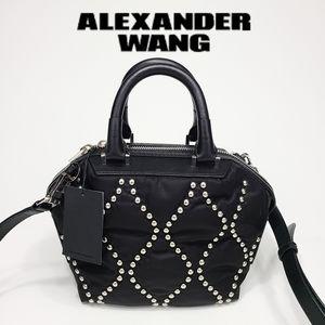 Alexander Wang Mini Emile Crossbody Stud Satchel
